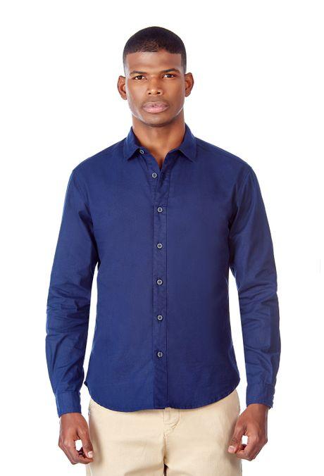 Camisa-QUEST-Original-Fit-QUE111LW0013-16-Azul-Oscuro-1