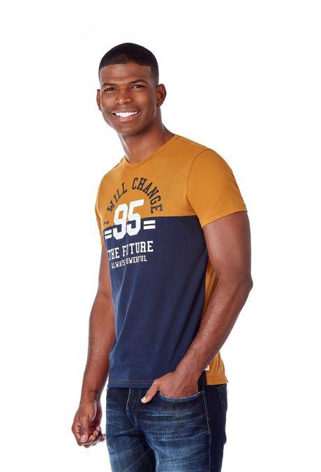 Camiseta-QUEST-Slim-Fit-QUE112190078-1-Ocre-2
