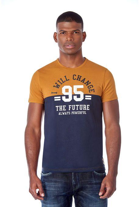 Camiseta-QUEST-Slim-Fit-QUE112190078-1-Ocre-1