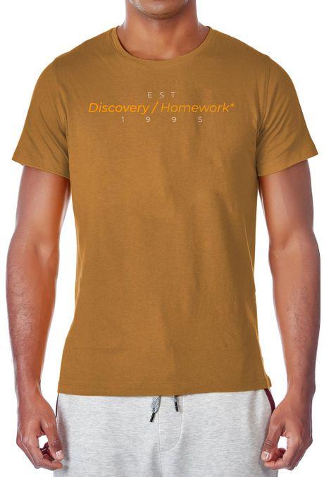Camiseta-QUEST-Slim-Fit-QUE163LW0031-1-Ocre-1