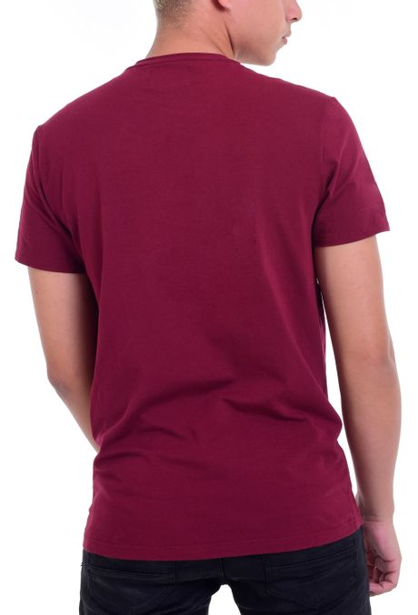Camiseta-QUEST-Slim-Fit-QUE163LW0032-37-Vino-Tinto-2