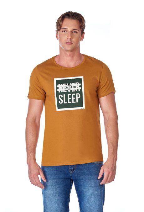 Camiseta-QUEST-QUE163LW0063-1-Ocre-1