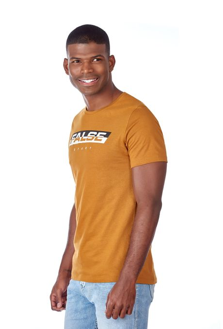 Camiseta-QUEST-Slim-Fit-QUE163LW0071-1-Ocre-2