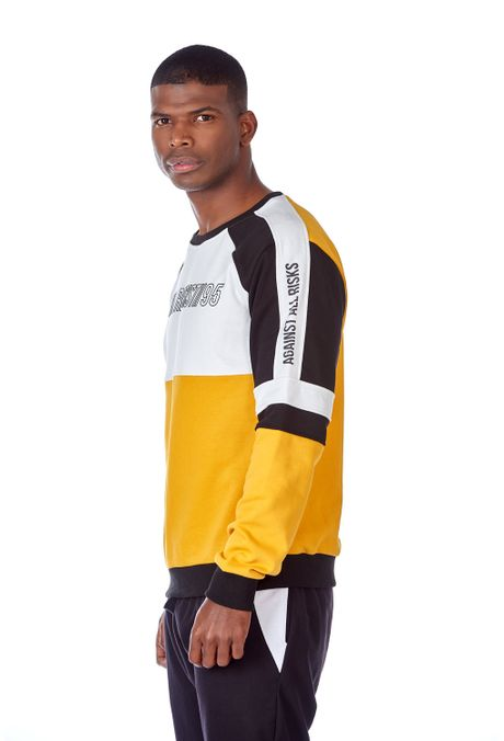 Hoodie-QUEST-QUE123190009-50-Mostaza-2