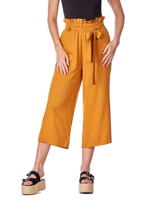 Pantalon-QUEST-Culote-Fit-QUE209190017-50-Mostaza-1