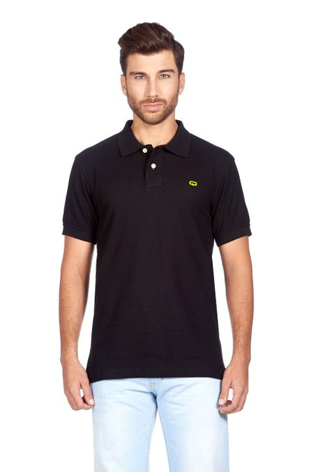 Polo-QUEST-Slim-Fit-QUE162BA0012-19-Negro-1