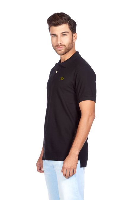 Polo-QUEST-Slim-Fit-QUE162BA0012-19-Negro-2