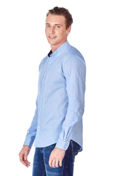 Camisa-QUEST-Slim-Fit-QUE111LW0017-9-Azul-Claro-2