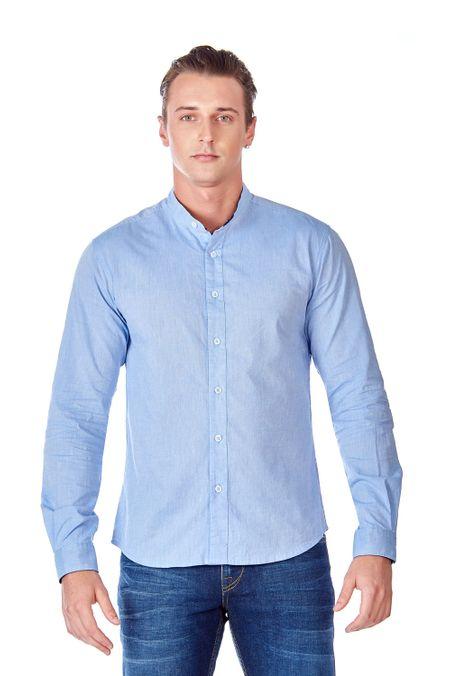 Camisa-QUEST-Slim-Fit-QUE111LW0017-9-Azul-Claro-1
