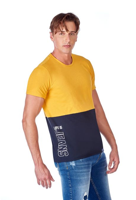 Camiseta-QUEST-Slim-Fit-QUE112OU0027-50-Mostaza-2