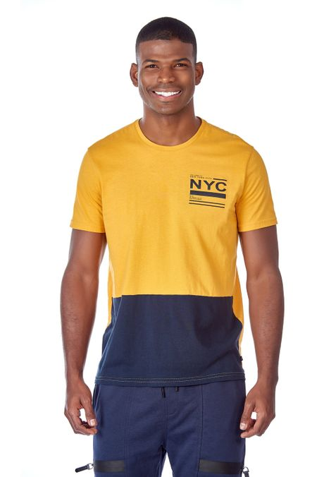 Camiseta-QUEST-Slim-Fit-QUE112OU0032-50-Mostaza-1