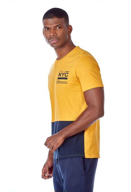 Camiseta-QUEST-Slim-Fit-QUE112OU0032-50-Mostaza-2