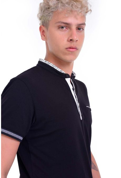 Polo-QUEST-Slim-Fit-QUE162190024-19-Negro-2