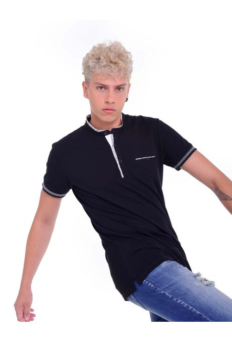 Polo-QUEST-Slim-Fit-QUE162190024-19-Negro-1