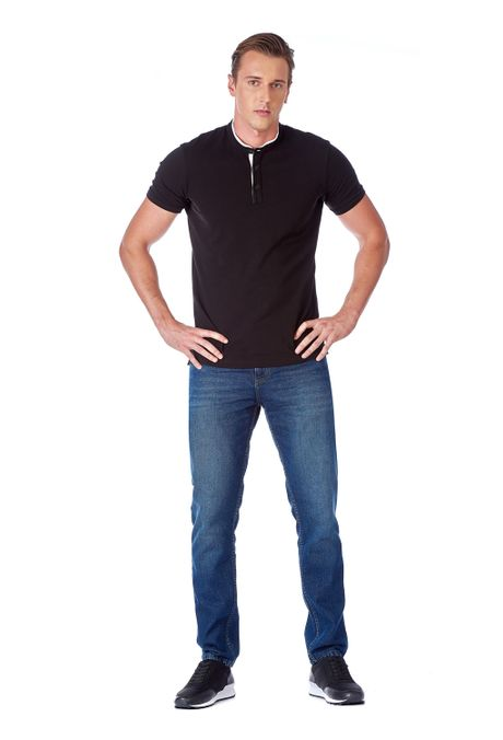 Polo-QUEST-Slim-Fit-QUE162190097-19-Negro-1