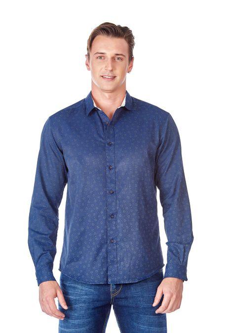 Camisa-QUEST-Original-Fit-QUE111LW0016-16-Azul-Oscuro-1