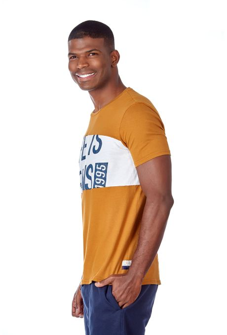 Camiseta-QUEST-Original-Fit-QUE112OU0022-1-Ocre-2