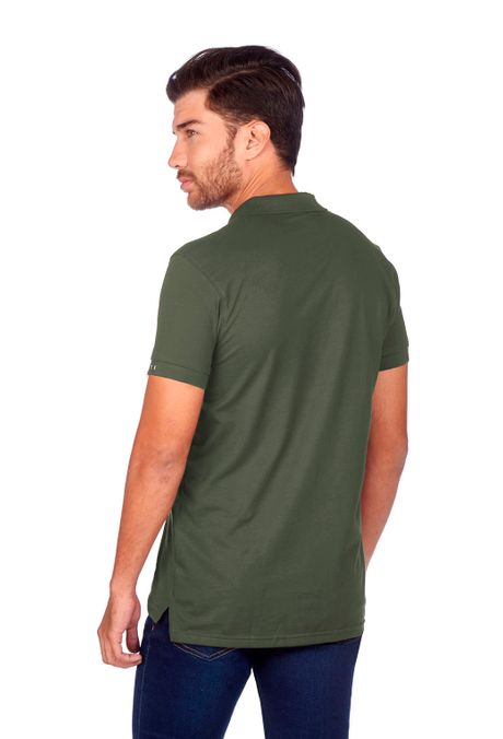 Polo-QUEST-Slim-Fit-QUE162BA0011-38-Verde-Militar-2