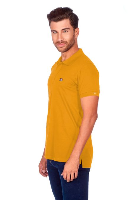 Polo-QUEST-Slim-Fit-QUE162BA0011-50-Mostaza-2