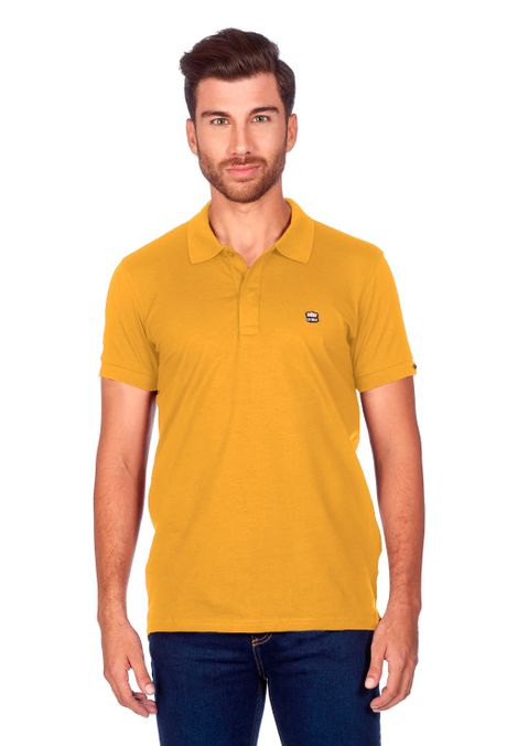 Polo-QUEST-Slim-Fit-QUE162BA0011-50-Mostaza-1