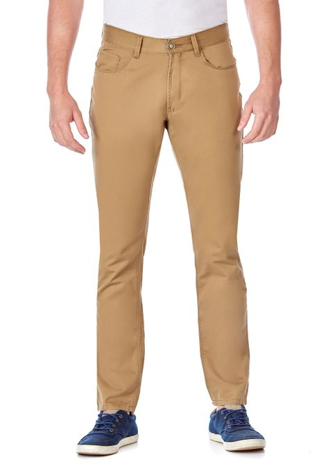 Pantalon-QUEST-Slim-Fit-QUE109LW0002-22-Kaki-1