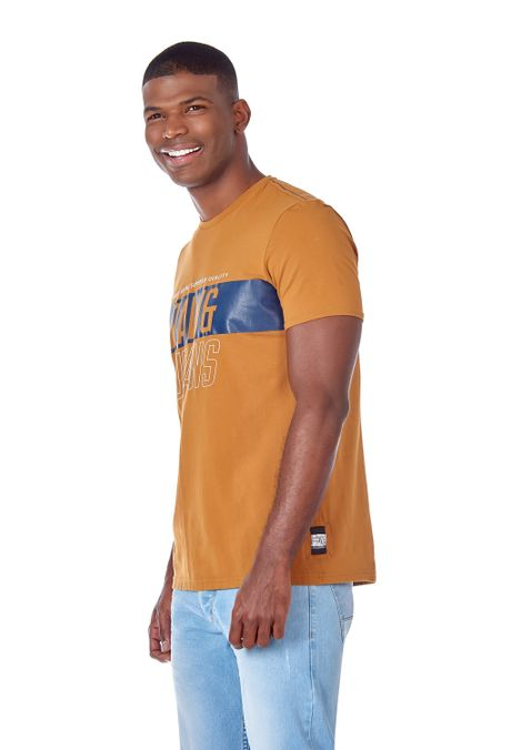 Camiseta-QUEST-Slim-Fit-QUE112190074-1-Ocre-2