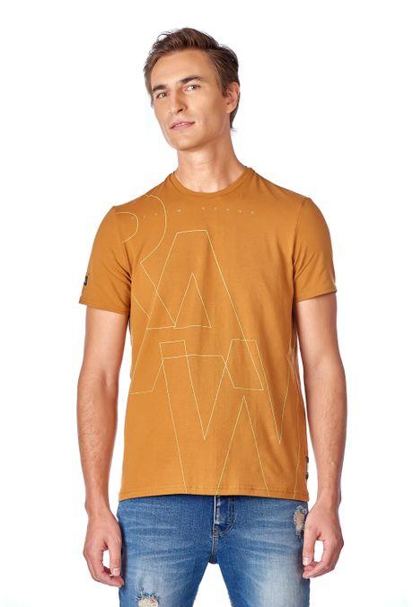 Camiseta-QUEST-Slim-Fit-QUE112190080-1-Ocre-1