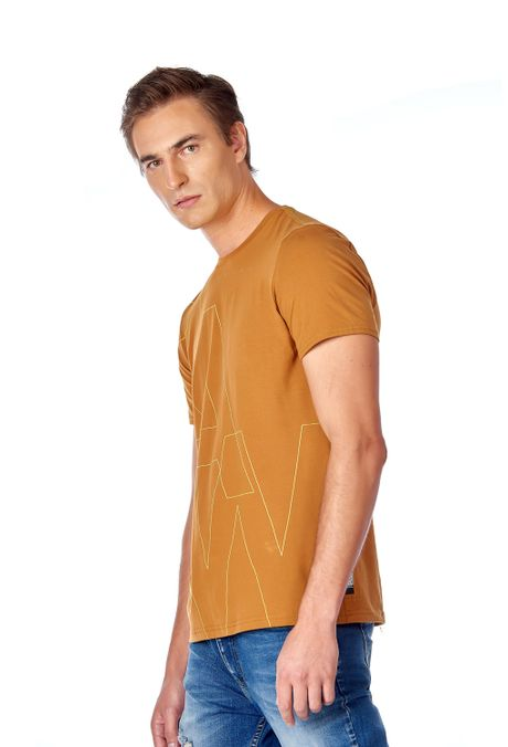 Camiseta-QUEST-Slim-Fit-QUE112190080-1-Ocre-2