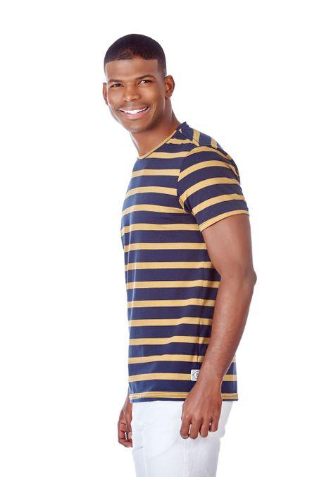 Camiseta-Especial-QUEST-Slim-Fit-QUE163190061-1-Ocre-2