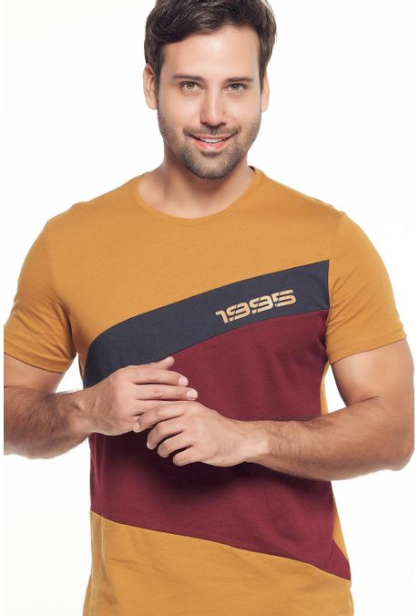 Camiseta-QUEST-Slim-Fit-QUE112190124-1-Ocre-1
