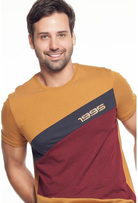 Camiseta-QUEST-Slim-Fit-QUE112190124-1-Ocre-2