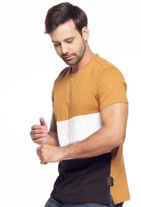 Camiseta-QUEST-Slim-Fit-QUE112190165-1-Ocre-2