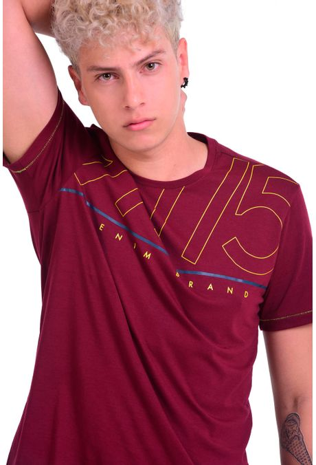 Camiseta-QUEST-Slim-Fit-QUE112OU0011-37-Vino-Tinto-1