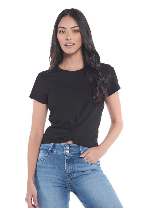 Camiseta-Especial-QUEST-Custom-Fit-QUE263LW0043-19-Negro-1