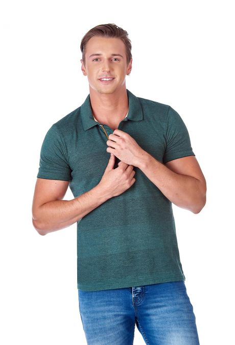 Polo-QUEST-Slim-Fit-QUE162190080-99-Verde-Botella-1