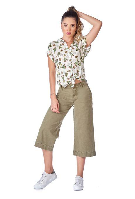 Pantalon-QUEST-Culote-Fit-QUE209190018-38-Verde-Militar-1