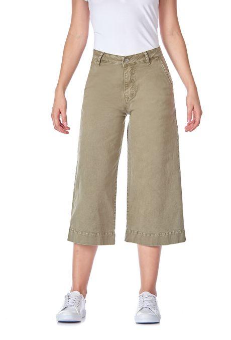 Pantalon-QUEST-Culote-Fit-QUE209190018-38-Verde-Militar-2