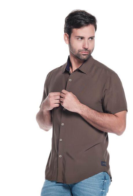 Camisa-QUEST-Original-Fit-QUE111LW0031-38-Verde-Militar-1
