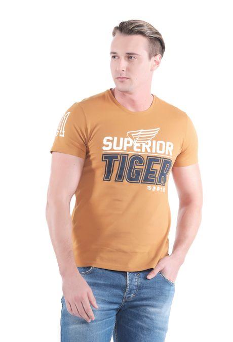 Camiseta-QUEST-Slim-Fit-QUE112OU0055-1-Ocre-1