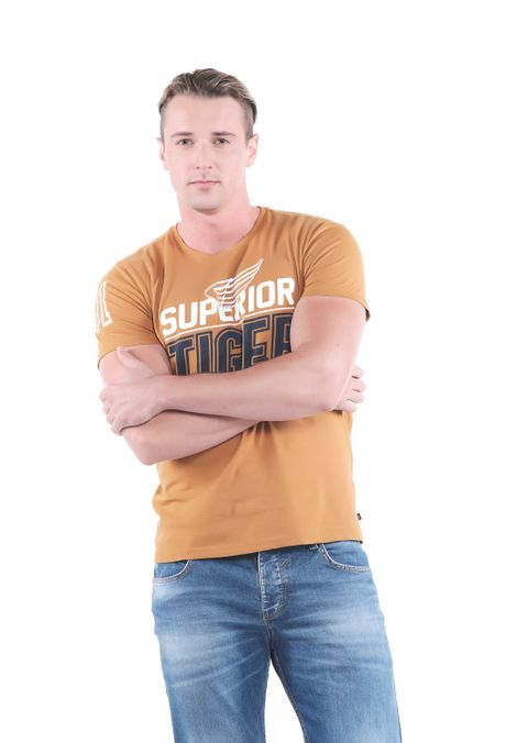 Camiseta-QUEST-Slim-Fit-QUE112OU0055-1-Ocre-2