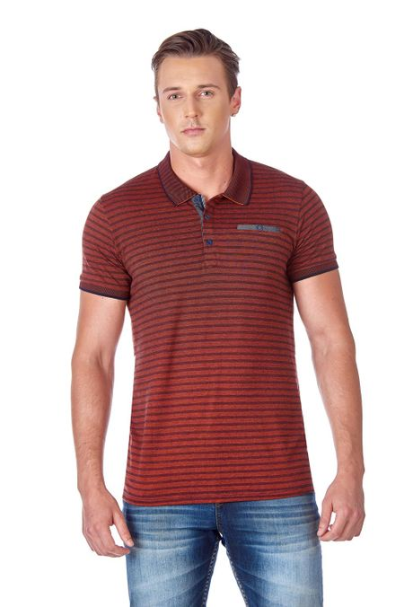Polo-QUEST-Slim-Fit-QUE162190099-53-Terracota-1