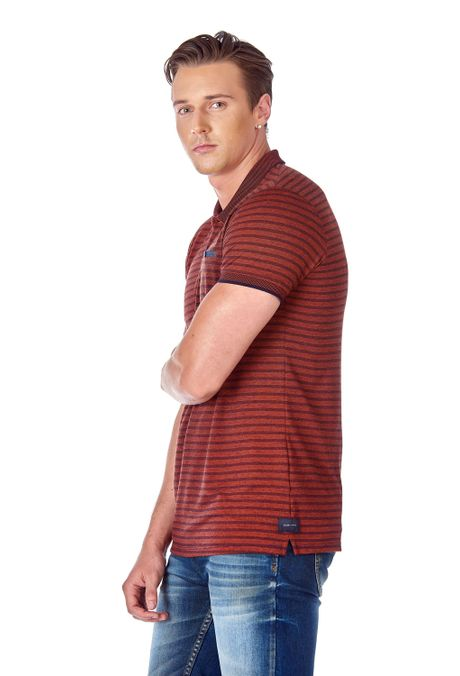 Polo-QUEST-Slim-Fit-QUE162190099-53-Terracota-2