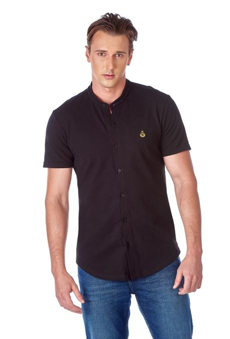 Polo-QUEST-Slim-Fit-QUE162190145-19-Negro-1