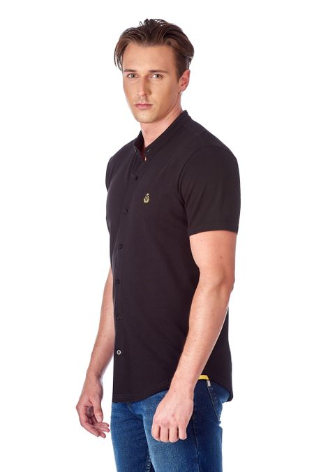 Polo-QUEST-Slim-Fit-QUE162190145-19-Negro-2