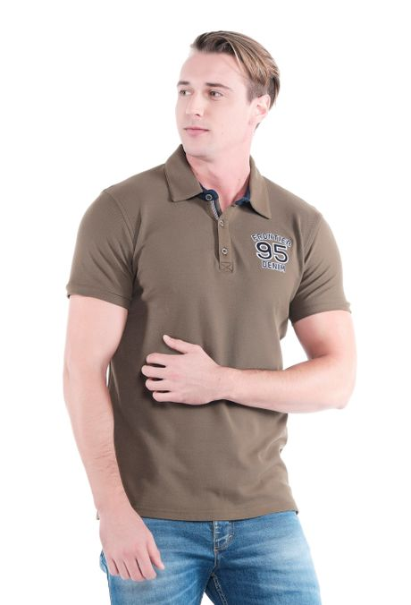 Polo-QUEST-Original-Fit-QUE162OU0010-123-Verde-Oliva-1