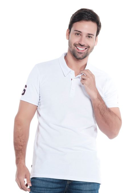 Polo-QUEST-Original-Fit-QUE162OU0012-18-Blanco-1