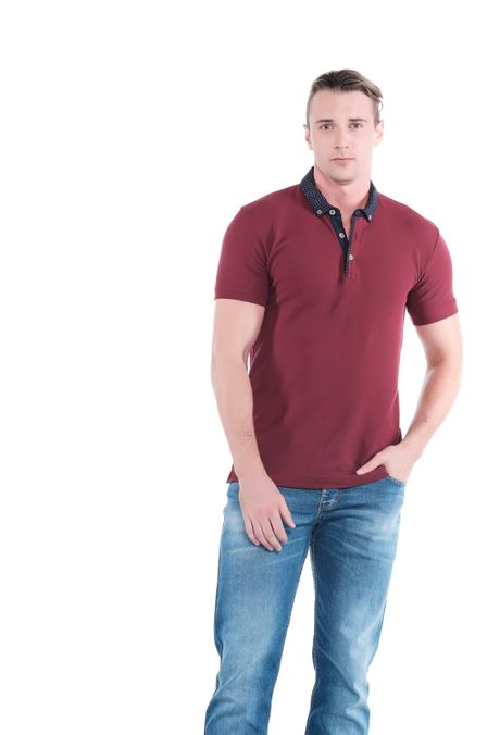 Polo-QUEST-Original-Fit-QUE162OU0013-37-Vino-Tinto-2