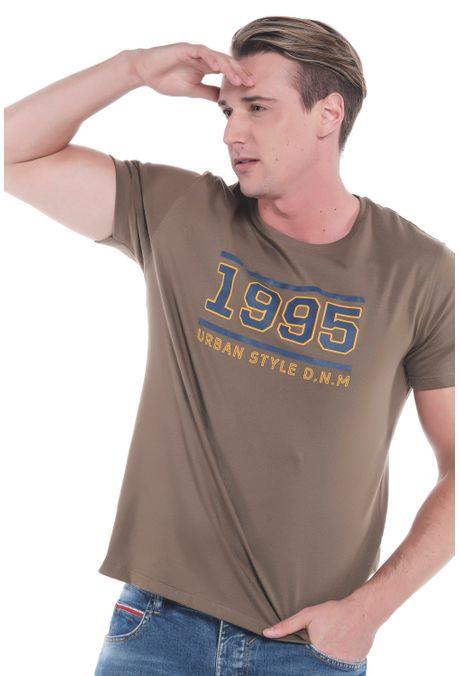 Camiseta-QUEST-Slim-Fit-QUE163LW0098-123-Verde-Oliva-1