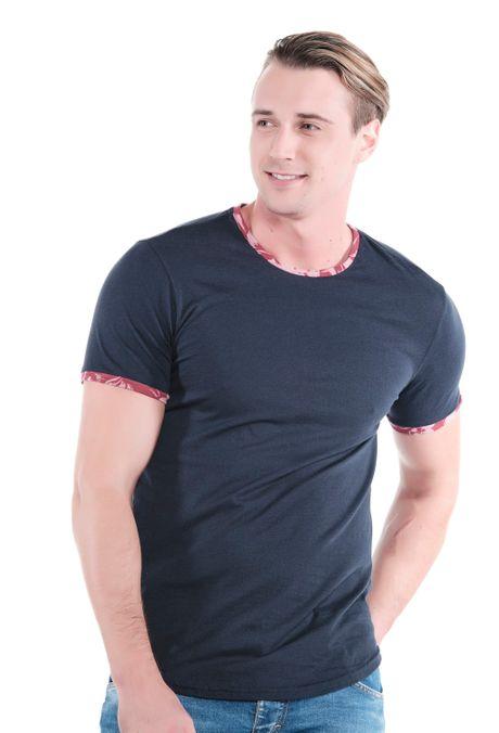 Camiseta-QUEST-Slim-Fit-QUE163LW0121-48-Azul-Oscuro-Indigo-1