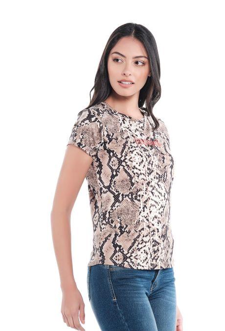 Camiseta-QUEST-Custom-Fit-QUE212190001-23-Cafe-2